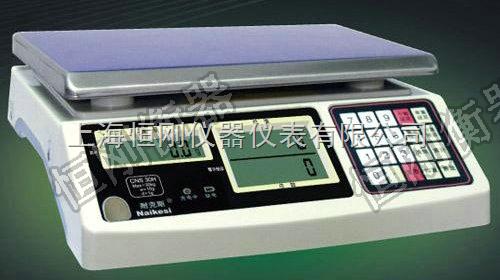 大安连接电脑3kg电子计数秤