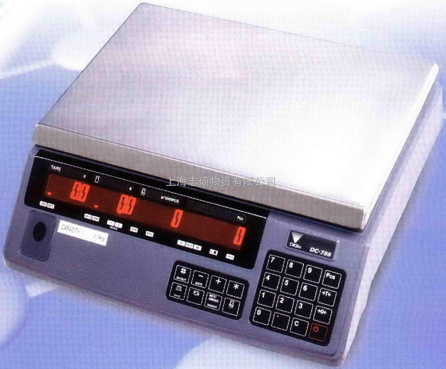 dc-788-上海寺冈电子计数秤digi电子秤