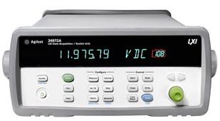 34970A数据采集器/存储记录仪介绍:
