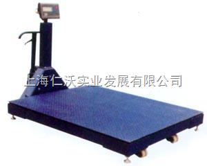 锦州SCS-3000kg移动式地磅称接打印机