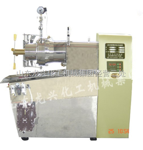 棒式卧式纳米砂磨机、棒销式纳米砂磨机