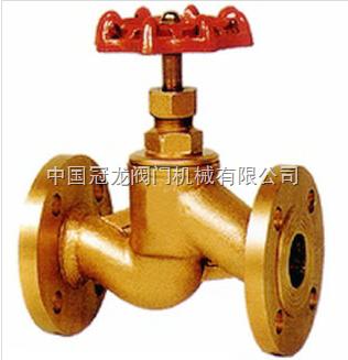 j41w黄铜截止阀 中国冠龙阀门机械有限公司图片