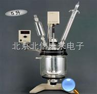 HG22-RV-605真空反应器 玻璃真空反应仪