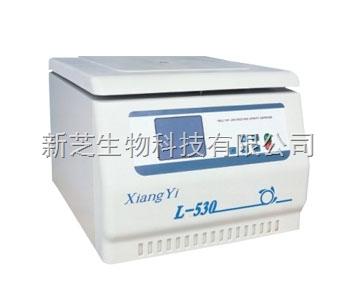 供应湖南湘仪/长沙湘仪离心机系列L-530多管架自动平衡离心机(大屏幕液晶显示)