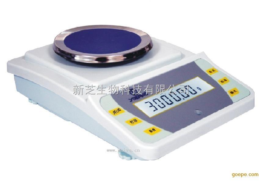 上海越平YP3001电子天平高稳定性电子天平带水准仪