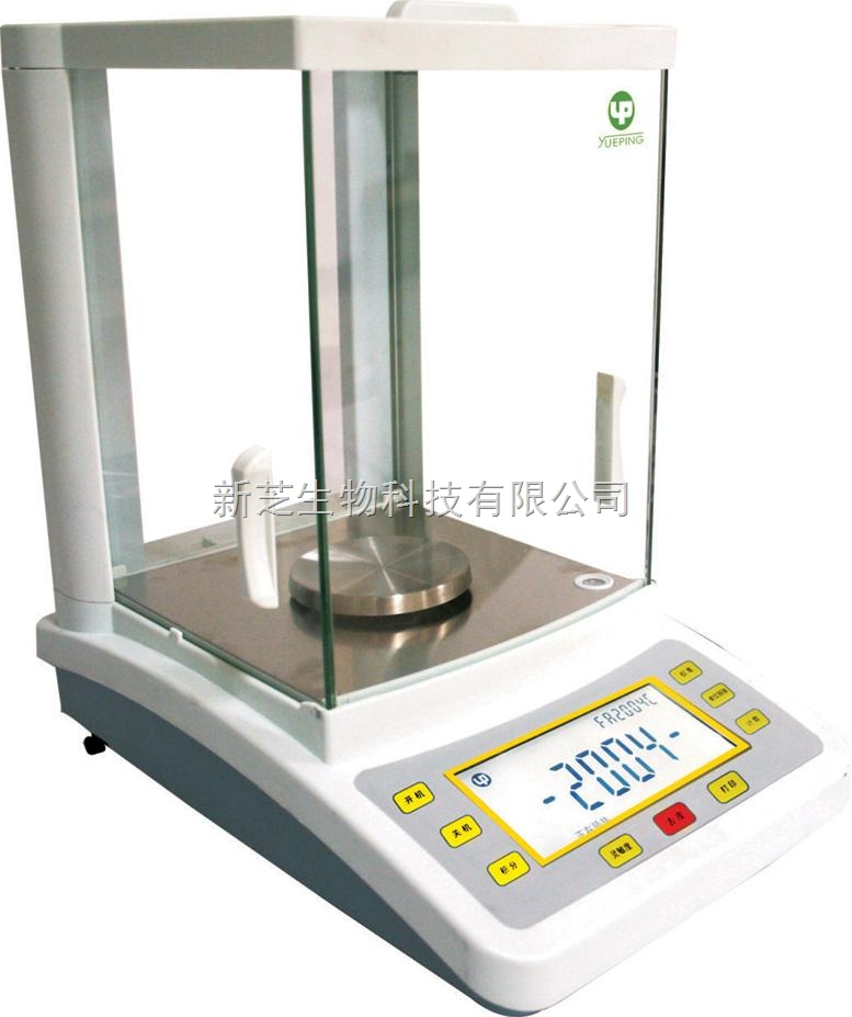 上海越平FA1604C电子分析天平