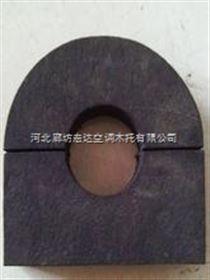 橡塑托码,防腐空调木托形状