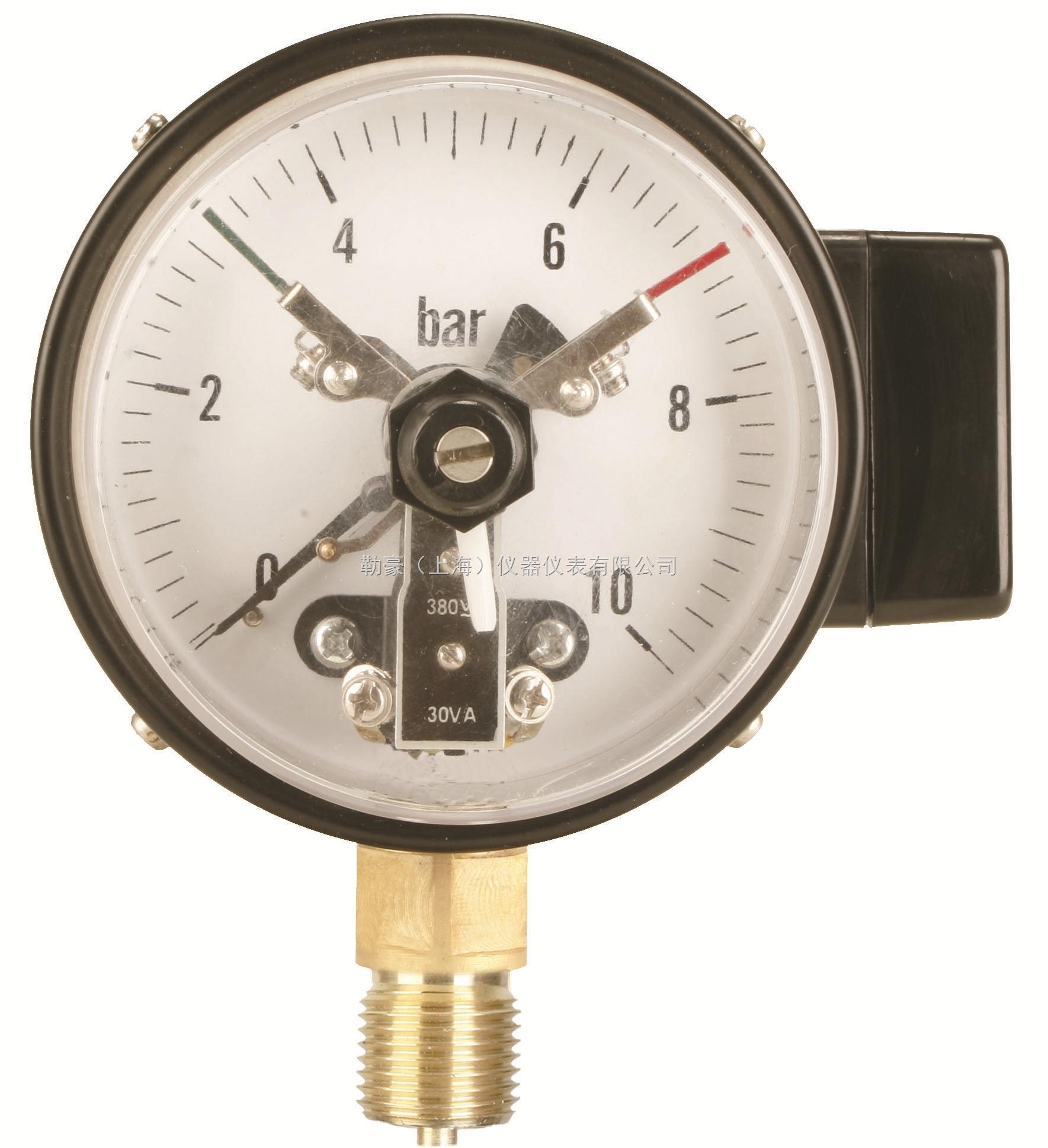 yxc-100普通型径向电接点压力表