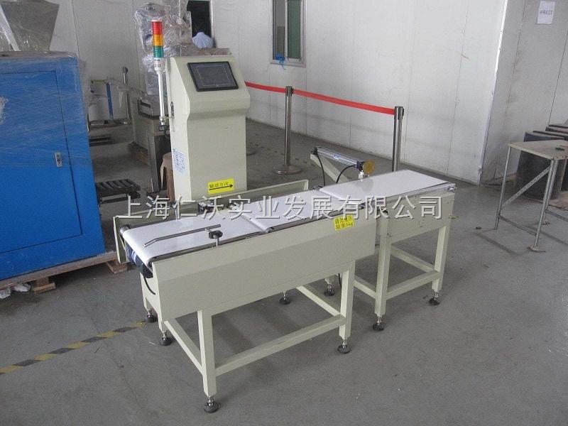 皮带重量分选机厂家 检查不合格产品剔除机器