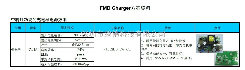 电压补偿提高输出电流精度l驱动能力可调l内置充电指示灯转换功能