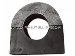 防腐空调管道木托*报价