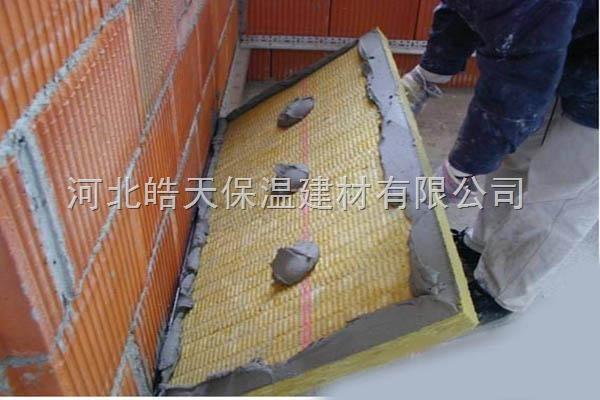 长春60mm厚保温岩棉板10公分厚屋面岩棉板价格