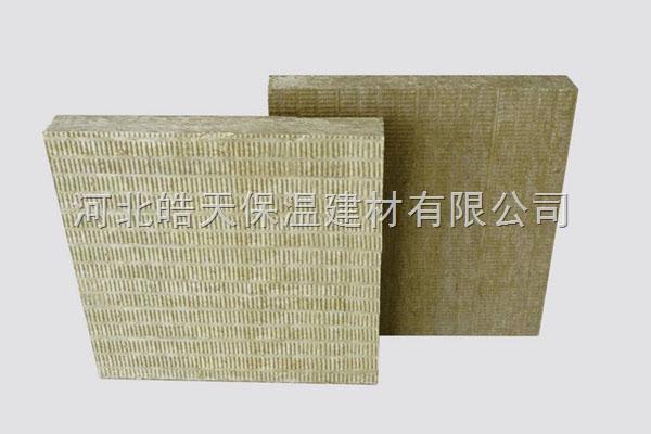 钢结构岩棉保温板,屋顶硬质憎水岩棉板价格