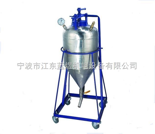 气动喷粉精炼罐