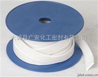 四氟弹性带 白色弹性带 带胶四氟膨胀带