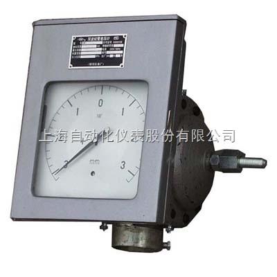 上海自动化仪表十一厂CWD-610单记录,同步电机驱纸双波纹管差压计