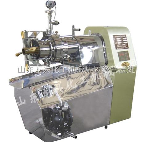 不锈钢卧式砂磨机 不锈钢聚氨酯砂磨机