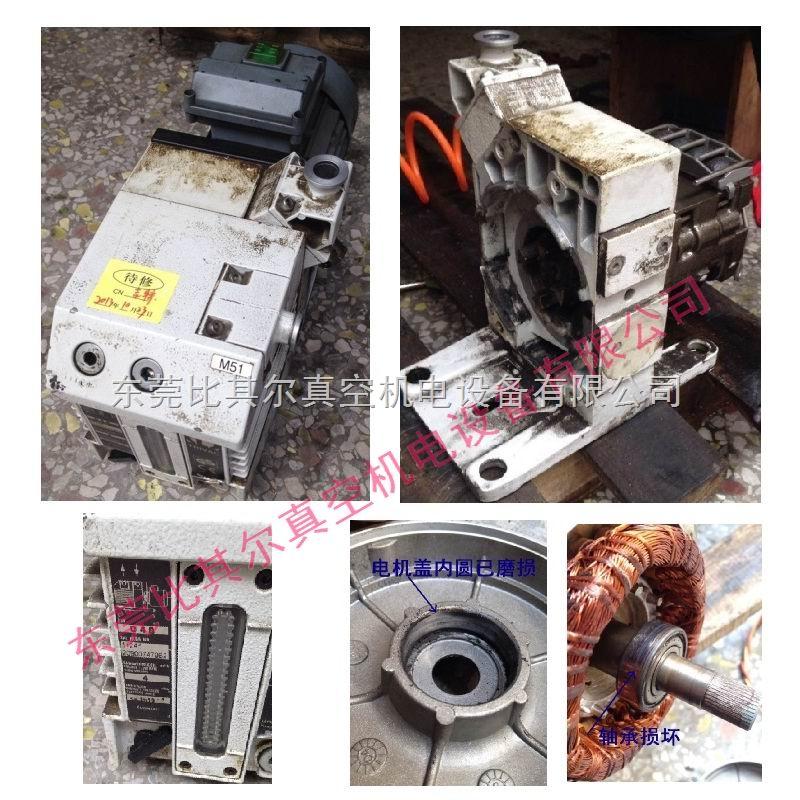莱宝SV750B真空泵维修