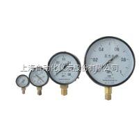 上海仪表四厂/自仪四厂/白云牌Y-100ZT 轴向带边压力表/普通压力表说明书、价格