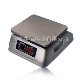 JWP钰恒30KG防水桌秤,不锈钢电子桌称,防水案秤
