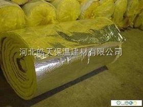 保溫隔熱吸聲材料鋼結構屋面100厚玻璃棉卷氈價格,隔音玻璃棉氈價格