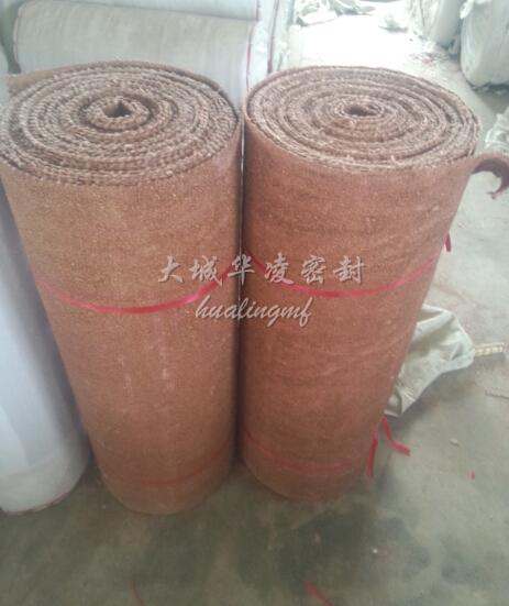 蛭石陶瓷纤维布