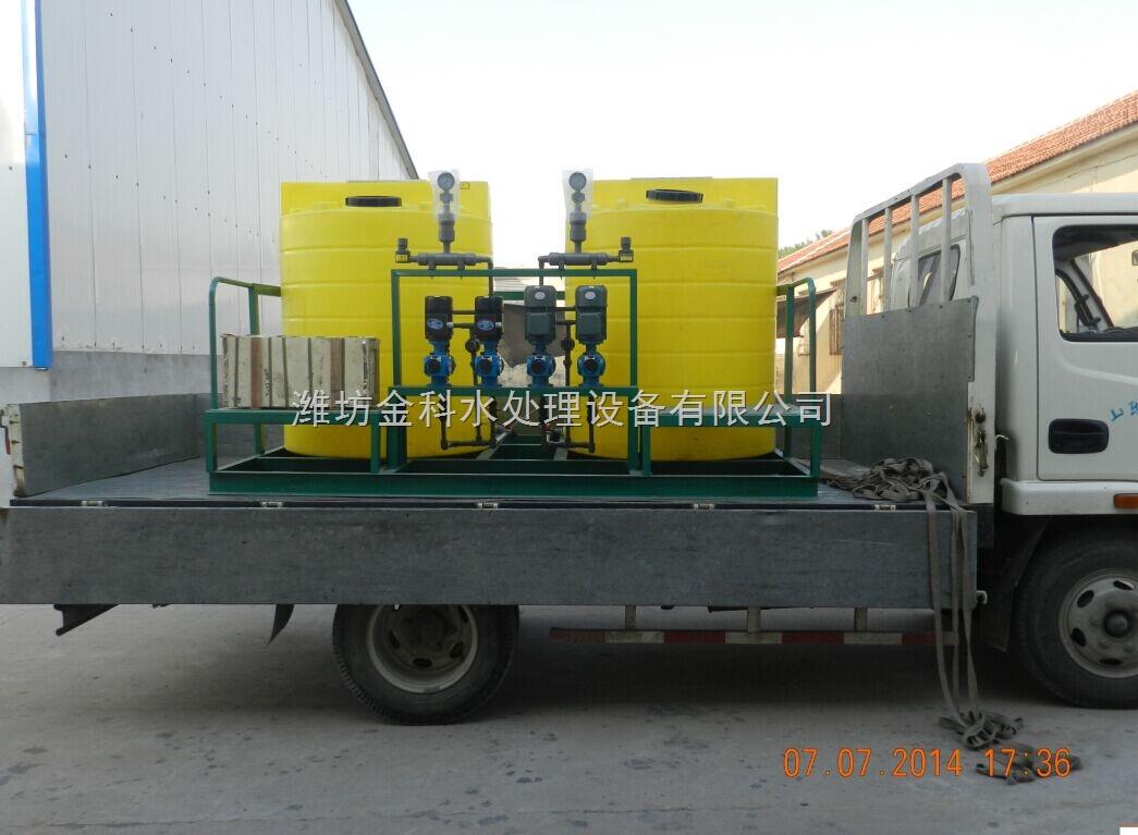 (6)计量泵泵电机运行方式:手动按钮—继电器&