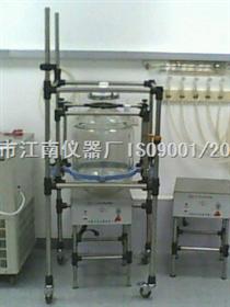 磁力搅拌玻璃反应釜(需定制)上海达丰玻璃反应釜  玻璃反应釜专业生产厂家