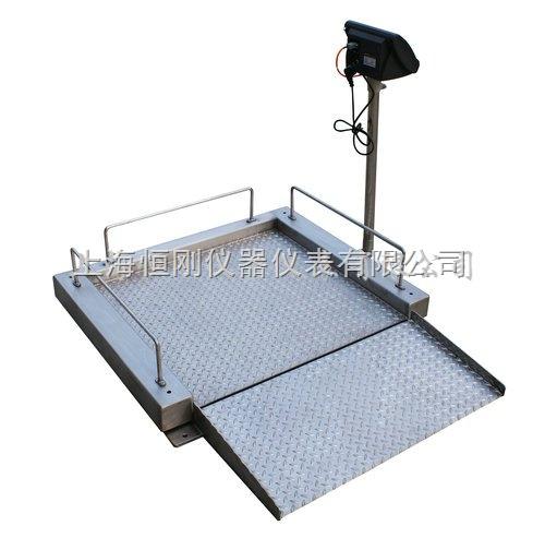 300公斤带斜坡轮椅秤