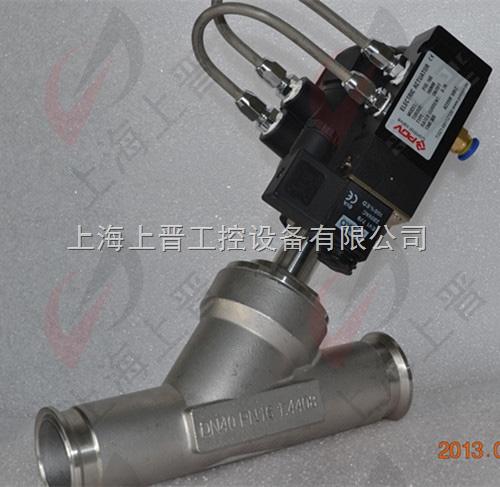 po7614-带电磁阀控制气动角阀