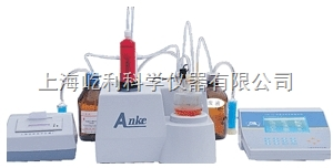 上海安亭電子 全自動卡氏水分儀