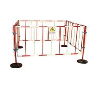 WL不锈钢折叠围栏热销 双带式不锈钢伸缩围栏