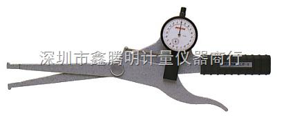 日本PEACOCK孔雀量表 LB-9 针盘式内测卡规