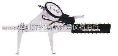 日本PEACOCK孔雀量表 LB-14 针盘式内测卡规