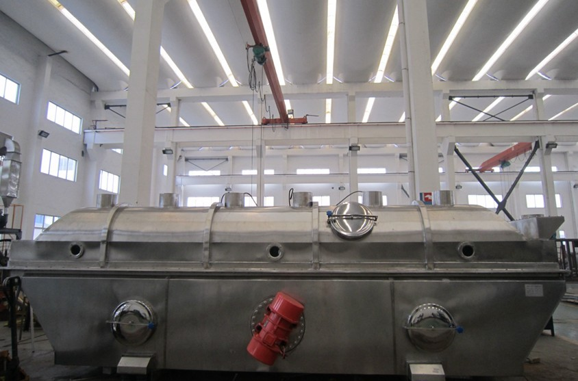 1t/h海藻糖振动流化床干燥机