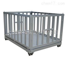 SCS带栏动物秤,围栏动物秤,动物电子秤