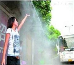 商场步行街喷雾降温工程