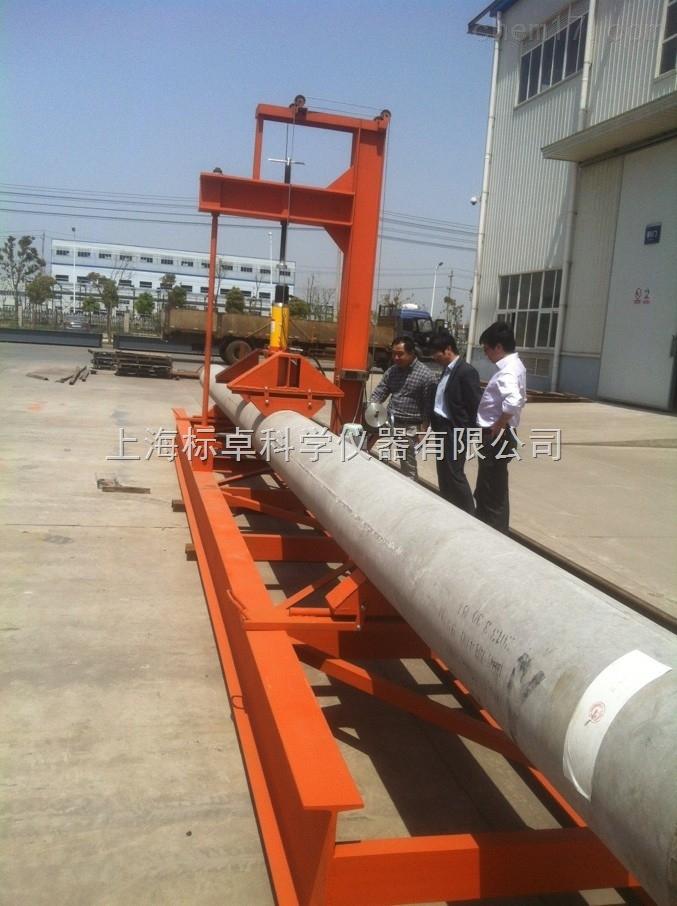 预应力混凝土管桩抗折强度试验机