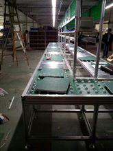 中山市8米360度无动力滚筒生产线