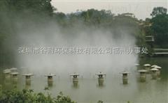 甘肃人工湖泊喷雾造景工程人工造雾设备人造雾