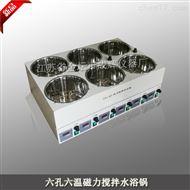 SHJ-6D六孔磁力攪拌水浴鍋
