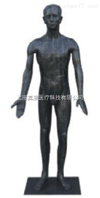 现代十四经络针灸铜人模型