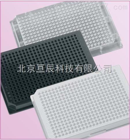 384孔黑色白色微孔板生命科学检测板