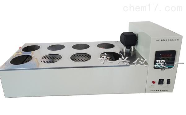 双列八孔磁力搅拌数显恒温水浴锅