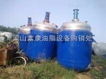 1吨2吨3吨5吨10吨厂家出售二手不锈钢反应釜,