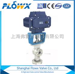气动对夹V型员球阀FPL2000-23E3适用于水、蒸汽、油品、硝酸、醋酸、氧化性介质