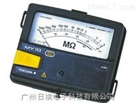 指针兆欧表240631日本横河模拟指针兆欧表240631