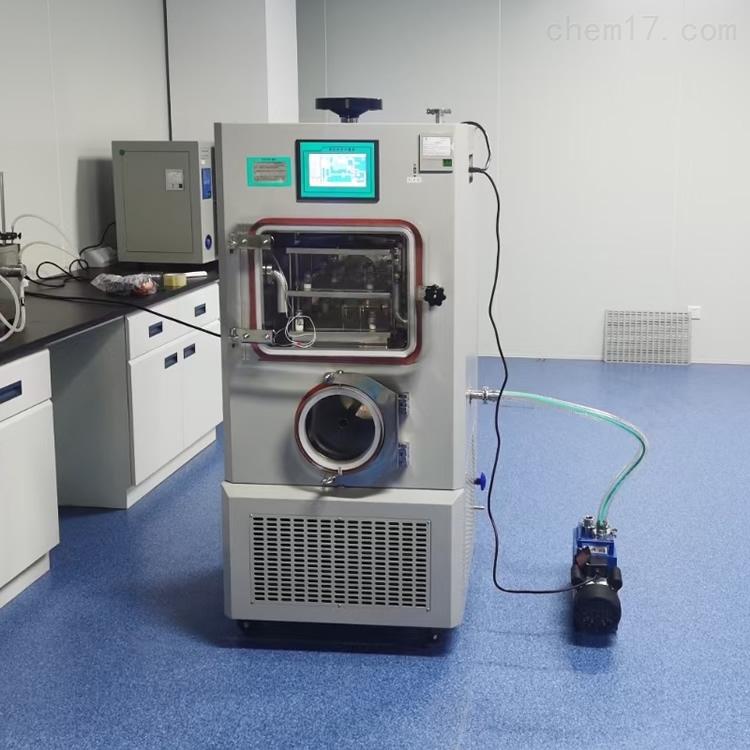 LGJ-20F(硅油加热)压盖型冷冻干燥机