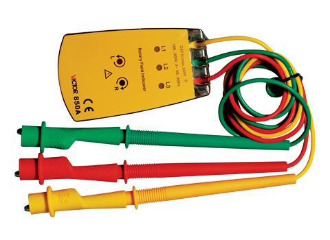 测试连接线长度:1m ■ 重量:约132g   特点: 本仪表专作三相正弦