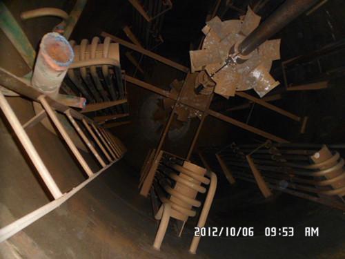 锥形发酵罐结构图
